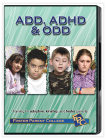 ADD, ADHD and ODD