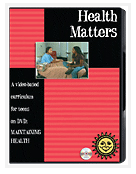 Health Matters DVD box