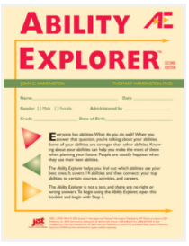 Preview of Ability Explorer assessment