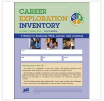Cover of Career Exploration Inventory workbook