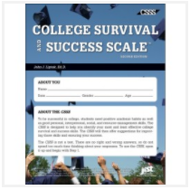 Cover of College Survival Success Scale workbook
