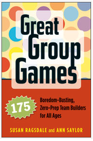 Cover of Great Group Games workbook