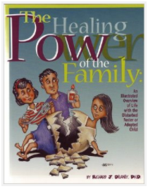 Cover of the Healing Power of Family workbook