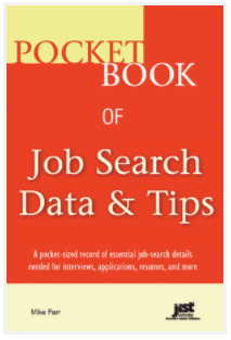 Cover of Pocket Book of Job Search Data & Tips workbook