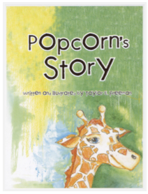 Cover of Popcorn's Story workbook